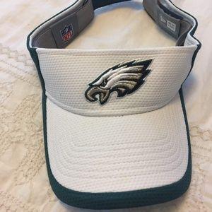Eagles Visor (White and Green)